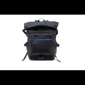 Coach men's all terrain roll top backpack